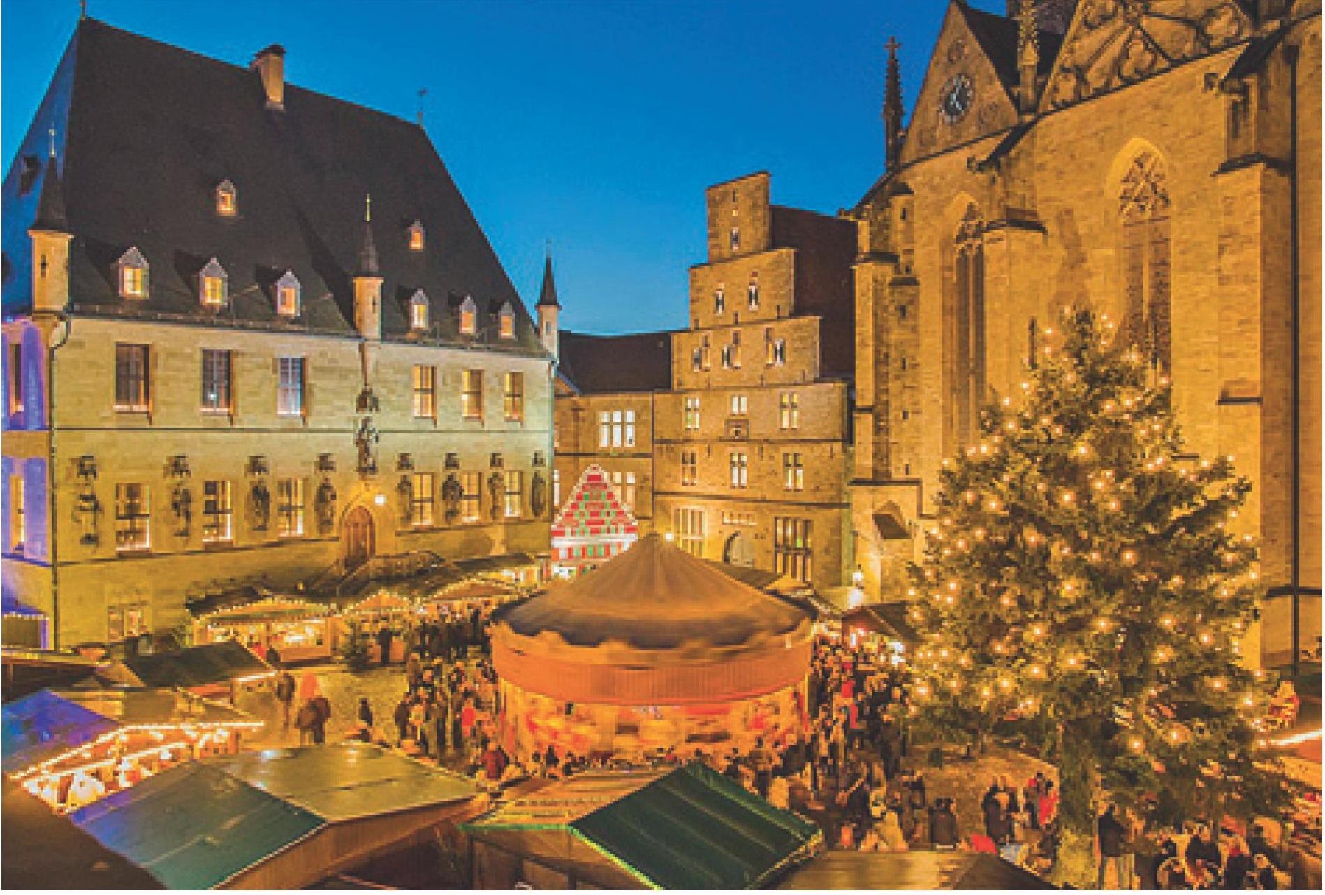 Weihnachtsmarkt Osnabrück.Friedensstadt Osnabrück Gruppenhandbuch De Gruppenreise