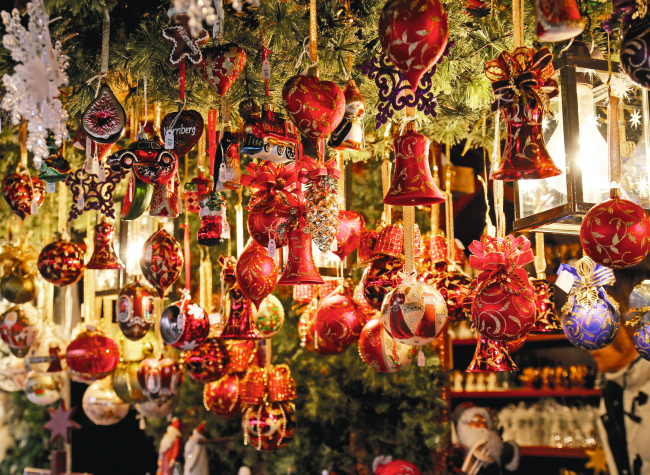 Nürnberger Weihnachtsmarkt Bild: Gerhard Gellinger auf Pixabay